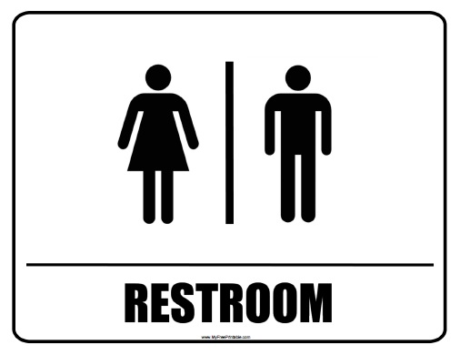 Free Printable Restroom Signs
